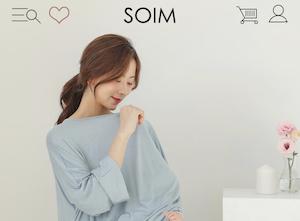 43e3dd6c88528 エレガントな韓国マタニティウェアブランドで、20代後半から30代前半のママに人気です。ソイムはとっても安いので、ママのお財布にも優しいです!